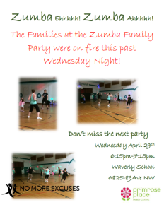 Zumba Poster - After